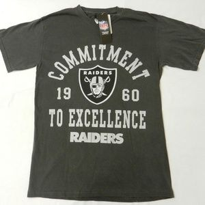 Oakland Raider T Shirt NFL Team Apparel New!